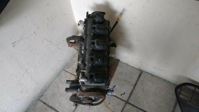 Motor parcial chevrolet ônix 1.4 ano 2015 usado original - Foto 4