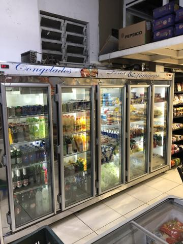 Vendo freezer auto-serviço 5 portas - Foto 4