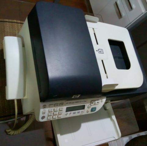 Impressora Impressora Multifuncional Hp Officejet J4660-Com xérox, fax e scanner - Foto 5