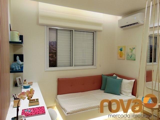 Apartamento à venda com 3 dormitórios em Setor bueno, Goiânia cod:NOV235464 - Foto 9