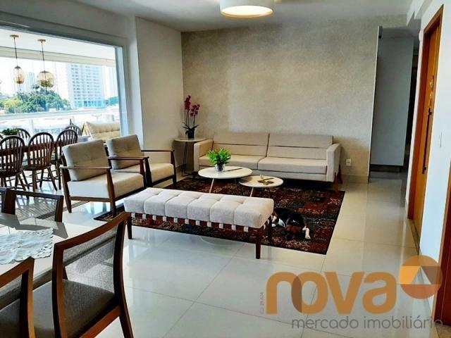 Apartamento à venda com 3 dormitórios em Setor bueno, Goiânia cod:NOV235705