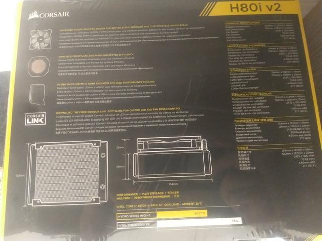 Water cooler Corsair H80iV2 - Foto 3