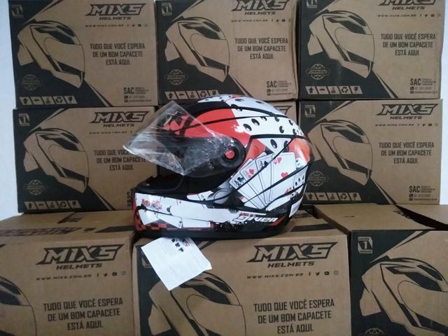 Capacete MIXs-Mega esportivo - Foto 3