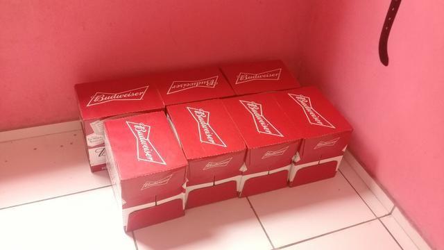 Vende-se caixa de Budweiser 550 ml - Foto 2