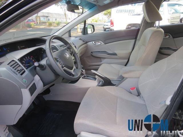 Honda Civic Automatico 2014 1.8 Lxs Completo Perfeito Estado Apenas 48.900 Lja - Foto 6