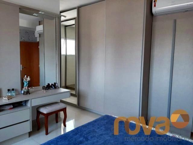 Apartamento à venda com 3 dormitórios em Setor bueno, Goiânia cod:NOV235705 - Foto 10