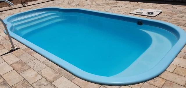 Construção e reforma de piscinas de fibra