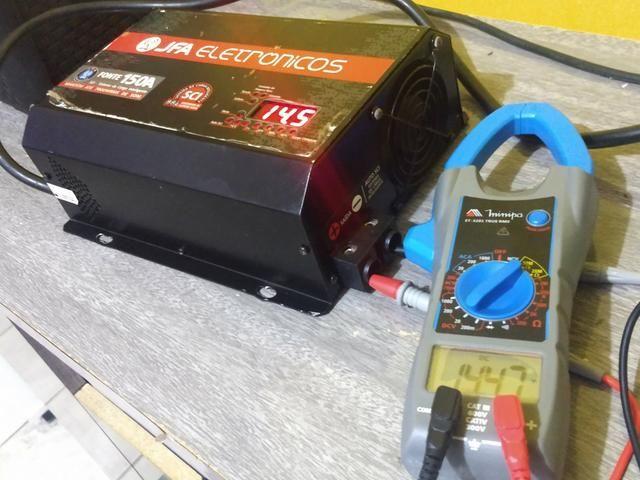 Fonte automotiva Jfa 150a sistema inteligente de carregamento mantenha seu som ligado - Foto 4