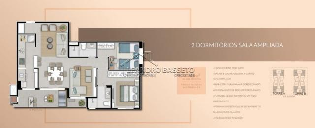 Apartamento à venda com 2 dormitórios em Monte verde, Florianópolis cod:1901 - Foto 2