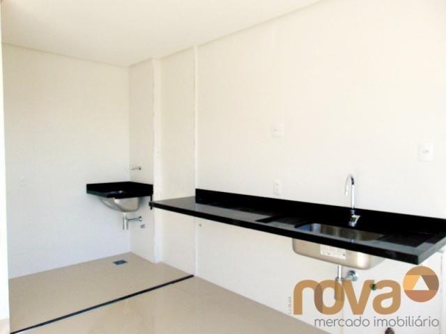 Apartamento à venda com 2 dormitórios em Setor marista, Goiânia cod:NOV235714 - Foto 3