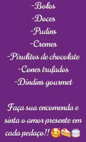 Bolos,Doces, Pudins etc. - Foto 4
