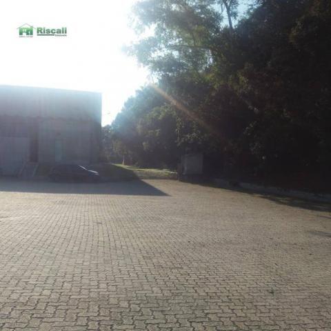Galpão industrial para locação, jardim santa bárbara, embu das artes. - Foto 17