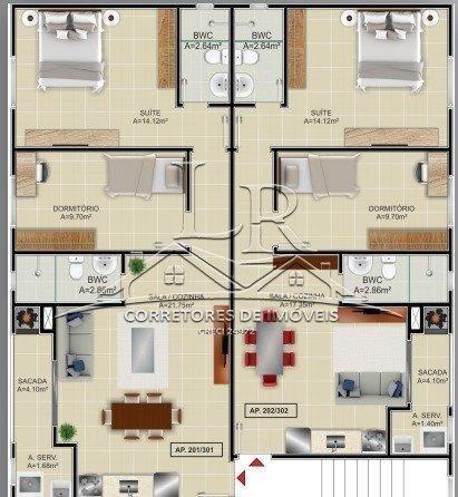 Apartamento à venda com 2 dormitórios em Ingleses, Florianópolis cod:1668 - Foto 6