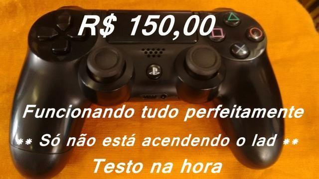 Controle de PS4 original ( leia )