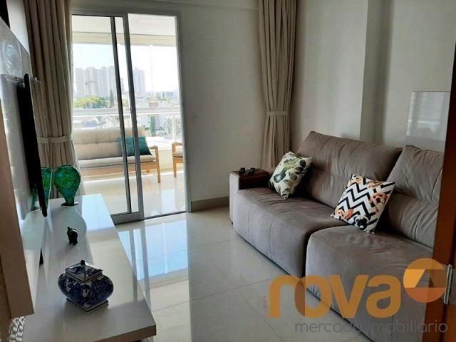 Apartamento à venda com 3 dormitórios em Setor bueno, Goiânia cod:NOV235705 - Foto 5