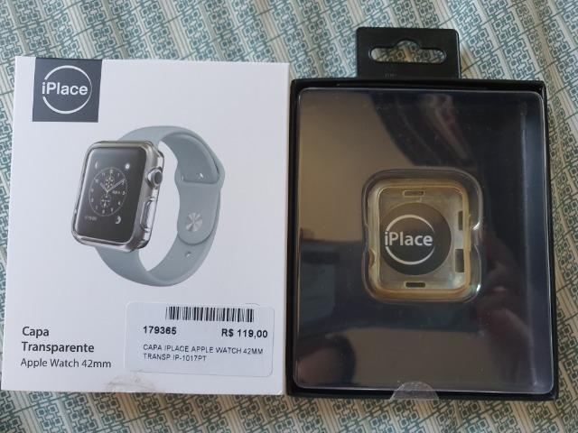 Capa transparente Apple watch 42mm - Foto 3