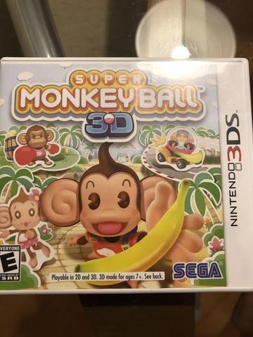 Jogo Nintendo 3DS - super monkey Ball