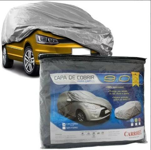 Capa Cobrir Carro Contra Sol E Chuva M, G (Leia o anúncio) - Foto 2
