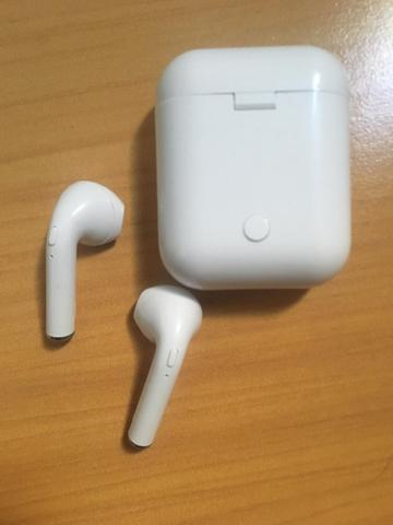 Fone de Ouvido EarPods I12 Bluetooth Android celular - Foto 3