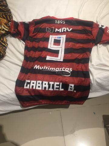 Blusa do Flamengo Tam G - Foto 2
