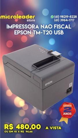 Impressora nao fiscal epson tm-t20 usb com nota fiscal e 2 anos de garantia
