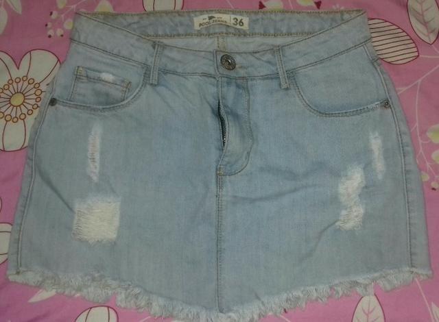 Saia jeans R $25 reais