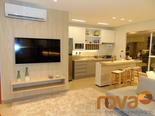 Apartamento à venda com 3 dormitórios em Setor bueno, Goiânia cod:NOV235464 - Foto 2