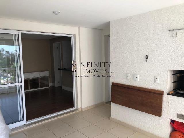 Apartamento 90 m², 2 suítes, sala estendida, varanda gourmet, 1 vaga, Aquárius - Foto 6