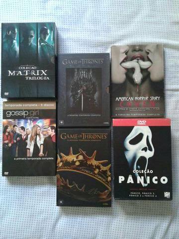 6 boxs DVD