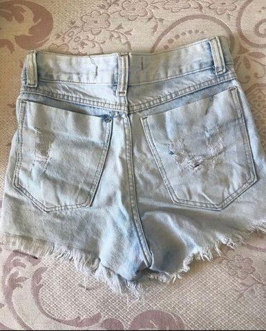 Short Jeans Cintura Alta - Foto 2