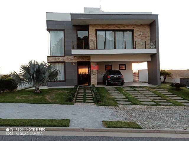 Exclusiva Casa moderna com 4 quartos sendo 3 suítes no Condomínio Alphaville Vespasiano