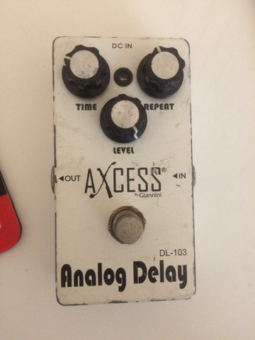 Pedal Delay Axcess (Gianini)