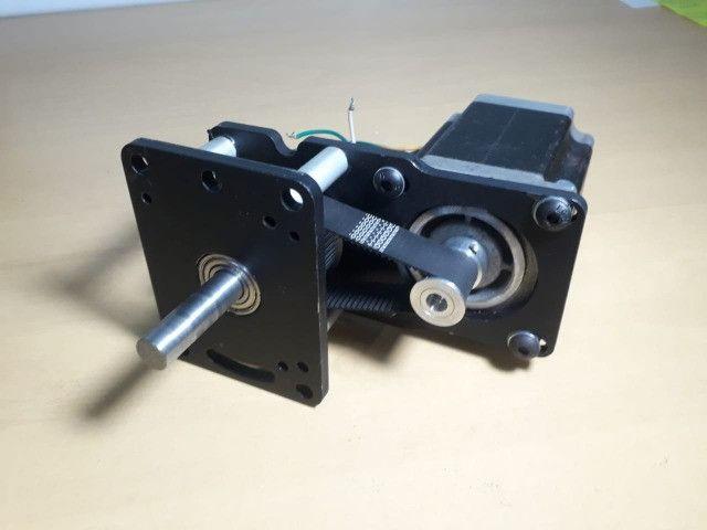Motor De Passo Com Redução 1:3 Cnc Plasma,laser,router - Foto 3