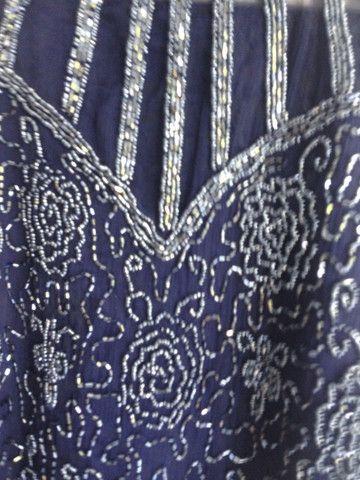 Blusa bordada c canutilhos - Foto 5