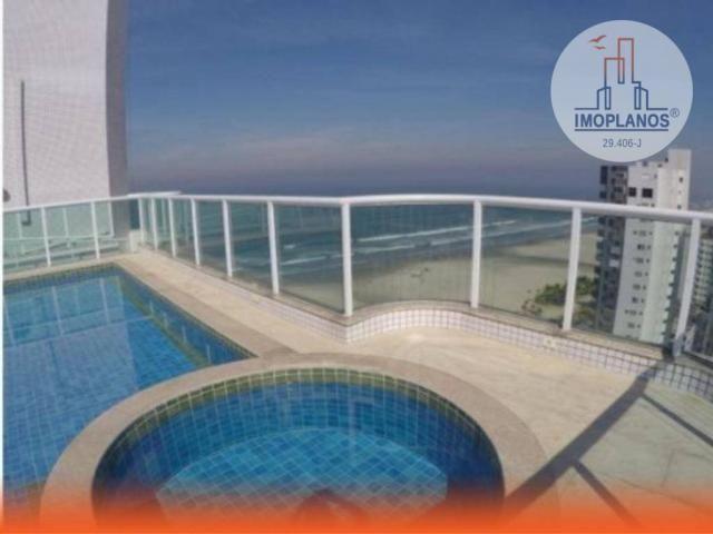 Apartamento com 2 dormitórios à venda, 78 m² por R$ 410.000,00 - Aviação - Praia Grande/SP