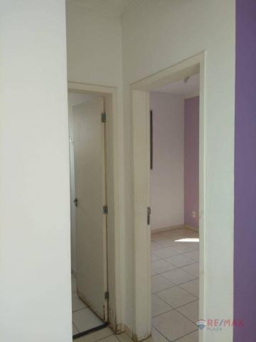 Apartamento com 2 dormitórios para alugar, 45 m² por R$ 650,00/mês - Residencial Ana Célia - Foto 17