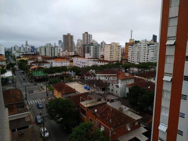 Apartamento com 3 dormitórios à venda, 111 m² por R$ 740.000,00 - Marapé - Santos/SP - Foto 9