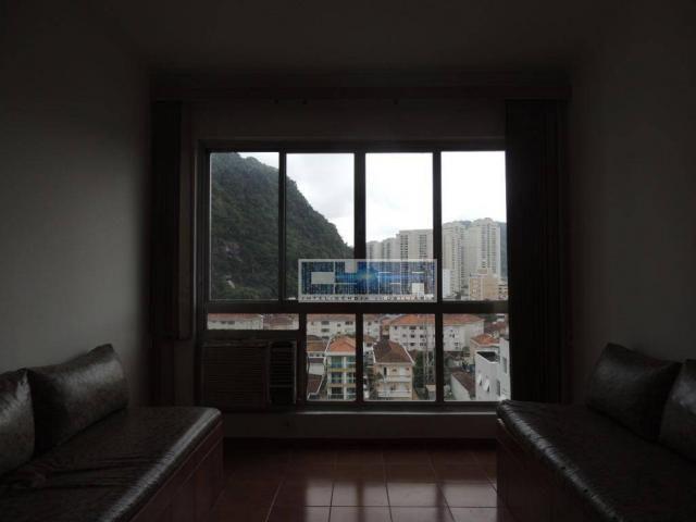 Apartamento AMPLO com 2 dormitórios e dependência em Santos - Foto 17
