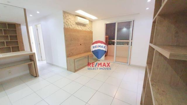 Apartamento com 3 dormitórios para alugar, 72 m² por R$ 1.595,94/ano - Neópolis - Natal/RN - Foto 3