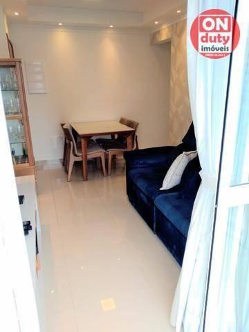 Apartamento Garden com 2 dormitórios à venda, 70 m² por R$ 475.000,00 - Aparecida - Santos - Foto 5