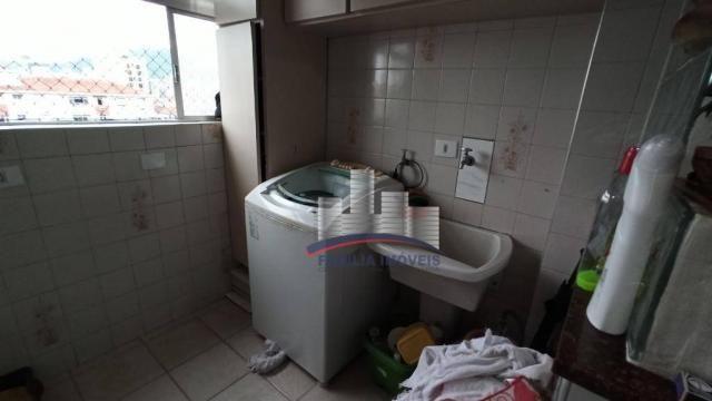 Apartamento com 2 dormitórios à venda, 74 m² por R$ 350.000,00 - Campo Grande - Santos/SP - Foto 16