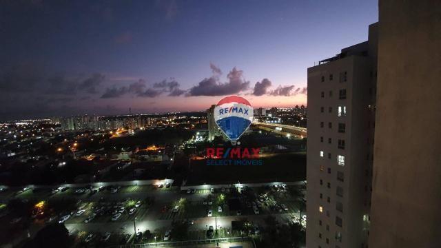 Apartamento com 3 dormitórios para alugar, 72 m² por R$ 1.595,94/ano - Neópolis - Natal/RN