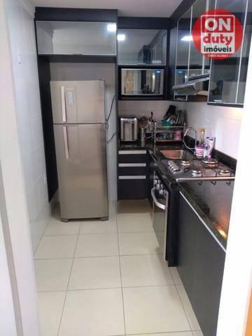 Apartamento Garden com 2 dormitórios à venda, 70 m² por R$ 475.000,00 - Aparecida - Santos - Foto 8