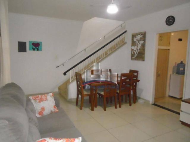 Sobrado com 3 dormitórios à venda por R$ 530.000,00 - Campo Grande - Santos/SP - Foto 5