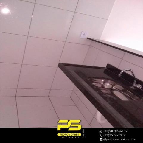 Apartamento com 2 dormitórios à venda, 60 m² por R$ 110.000 - Paratibe - João Pessoa/PB - Foto 6