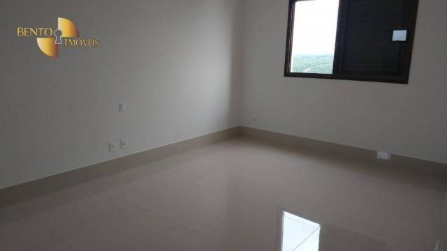 ED ROYAL PRESIDENT - Apartamento com 4 dormitórios à venda, 237 m² por R$ - Bosque - Cuiab - Foto 6