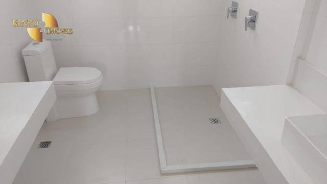 ED ROYAL PRESIDENT - Apartamento com 4 dormitórios à venda, 237 m² por R$ - Bosque - Cuiab - Foto 8
