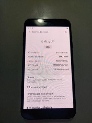 Celular Samsung J4 igual a novo