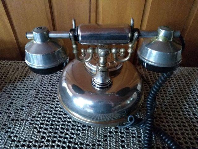 Raríssimo !!! Telefone americano anos 50 funcionando !!! - Foto 3