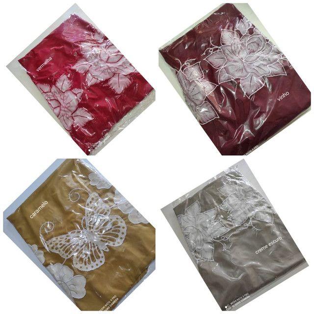 Coxa de cama box bordado com babado - Foto 4